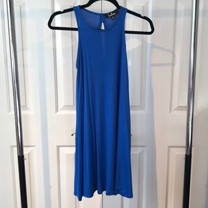 Flowy Cobalt Blue Dress